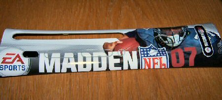 Madden 07 Faceplate