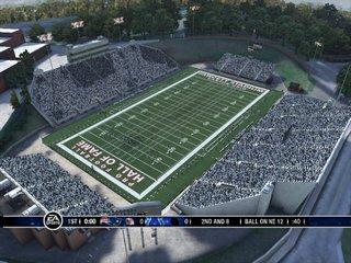 Hall of Fame stadium