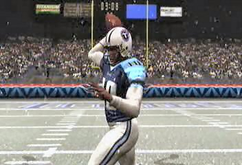 Vince Young throw