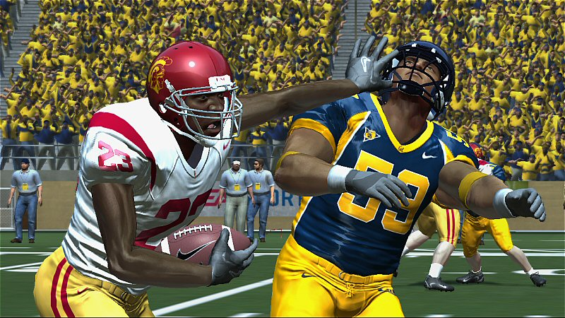 NCAA Football 08 screen #3