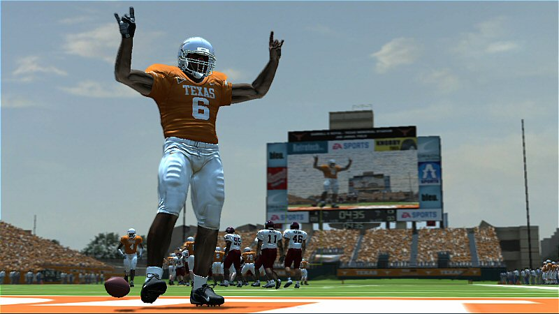 NCAA Football 08 screen #5