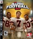 All-Pro Football 2K8 Final Cover Art