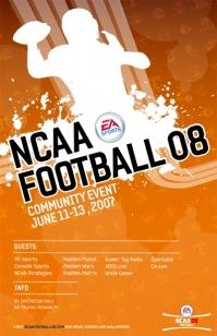 NCAA Football 08 community day